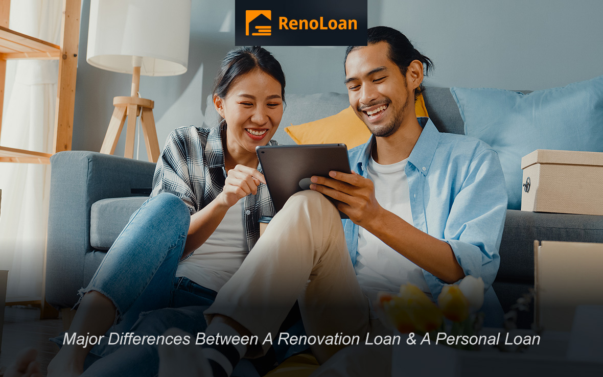 3 Major Differences Between A Renovation Loan & A Personal Loan